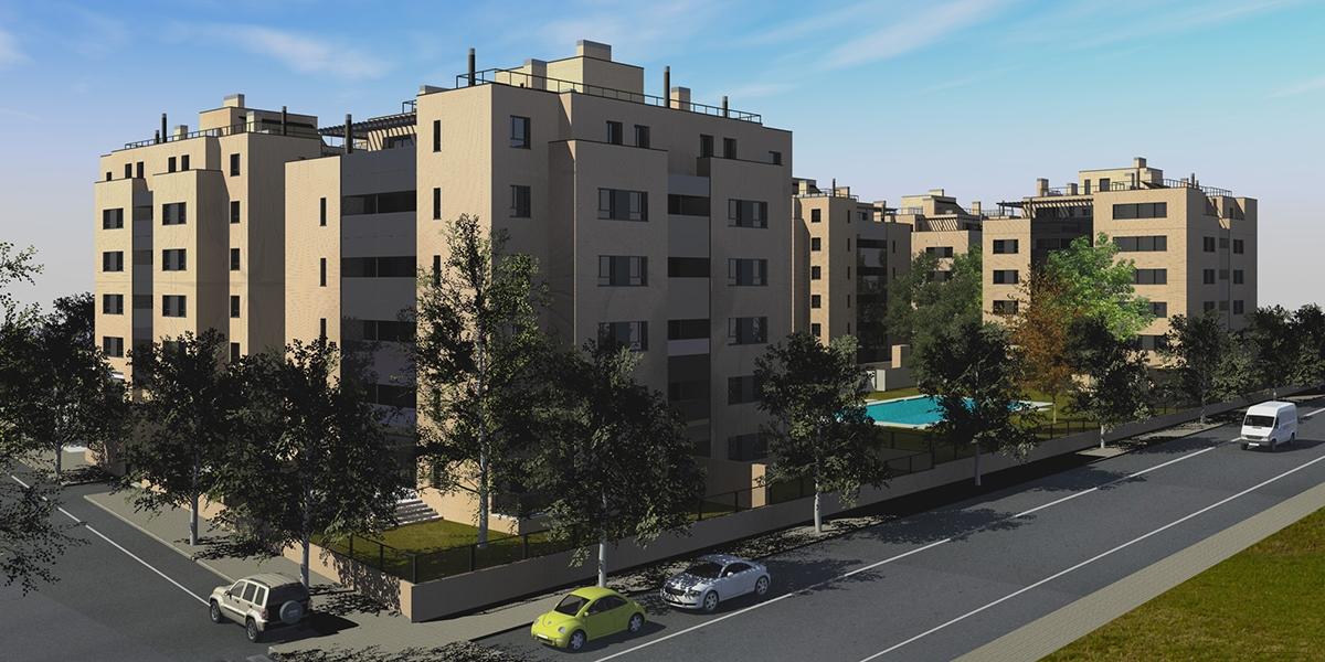 114 viviendas en mairena del aljarafe total bim consulting for Metrolux mairena del aljarafe