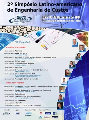 2º Simpósio Latino-americano de Engenharia de Custos